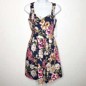 HAVE Floral Fit Flare Dress